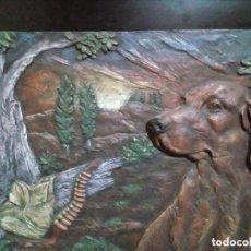 Arte: CUADRO DE ARTE ROMERA DE RESINA DE ALTA DENSIDAD SOBRE PEANA AÑO 1993. Lote 275741893