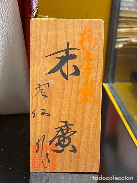 Arte: Geisha en porcelana de 42 cm en perfecto estado - Foto 6 - 276079783