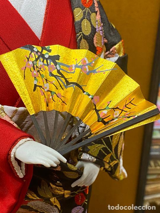 Arte: Geisha en porcelana de 42 cm en perfecto estado - Foto 8 - 276079783