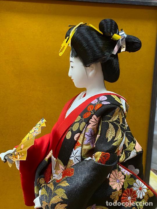 Arte: Geisha en porcelana de 42 cm en perfecto estado - Foto 9 - 276079783