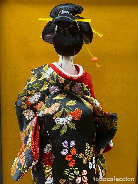 Arte: Geisha en porcelana de 42 cm en perfecto estado - Foto 16 - 276079783