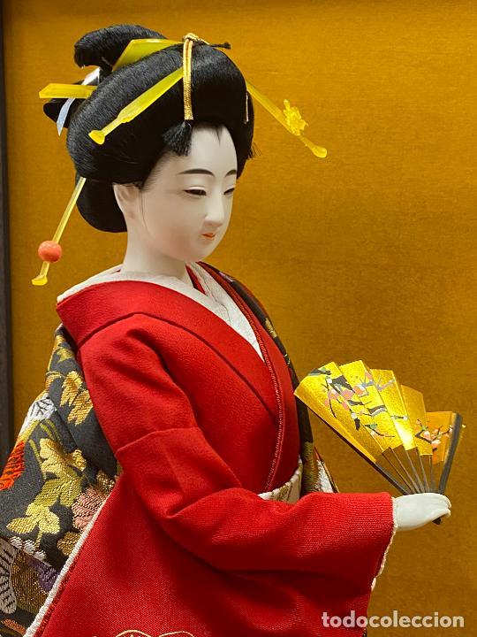 Arte: Geisha en porcelana de 42 cm en perfecto estado - Foto 17 - 276079783