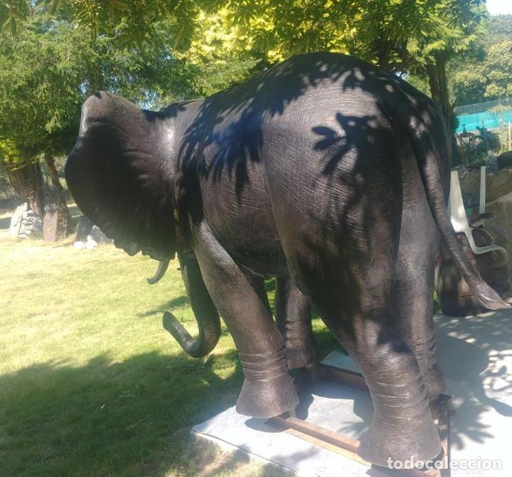 Arte: Elefante de bronce de 600 kg en tamaño real [Amazing bronze elephant] - Foto 2 - 276175513