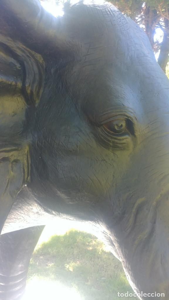 Arte: Elefante de bronce de 600 kg en tamaño real [Amazing bronze elephant] - Foto 3 - 276175513