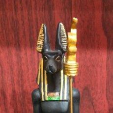 Arte: FIGURA EGIPCIA .ANUBIS. Lote 276617563
