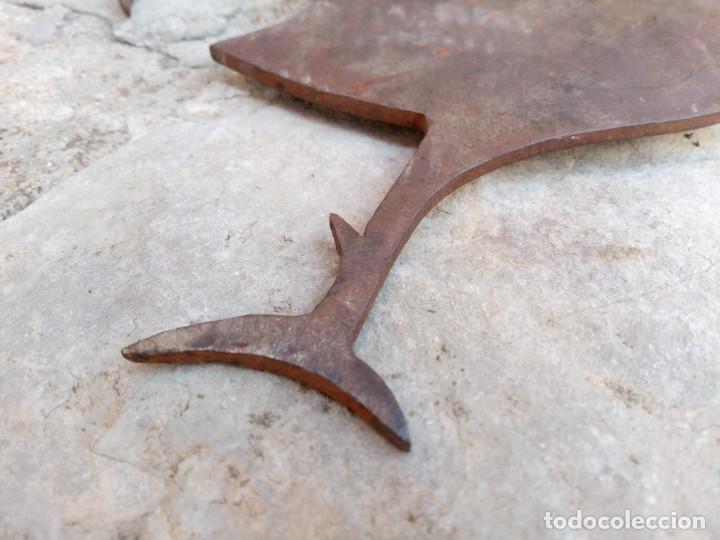 Arte: Gallo galo. Escultura en plancha metálica - Foto 5 - 278383513