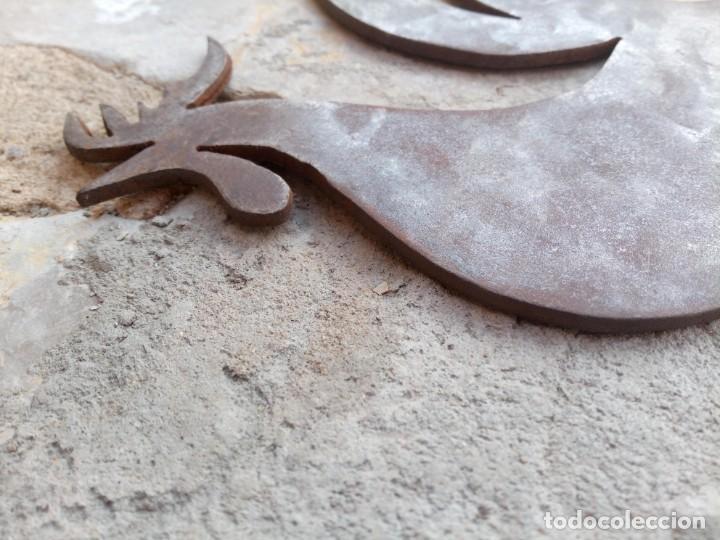 Arte: Gallo galo. Escultura en plancha metálica - Foto 8 - 278383513