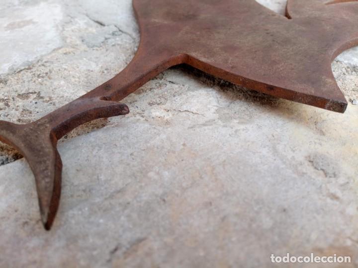 Arte: Gallo galo. Escultura en plancha metálica - Foto 10 - 278383513