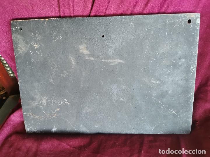 """Arte: Preciosa placa - relieve metálica. 5 kilos. Obra """"el poeta pobre"""" del alemán Carl Spitzweg - Foto 9 - 278578138"""
