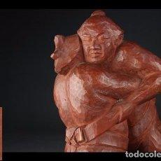 Arte: LUCHADORES, DE YAMAWAKI SHOJI, 1969?. Lote 278866673