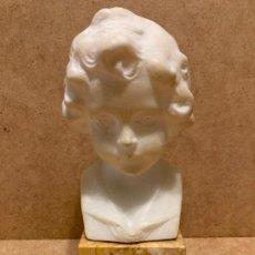Arte: BUSTO DE NIÑA, FITMADO POR DANIEL GREINER (1872-1943). Lote 280148788