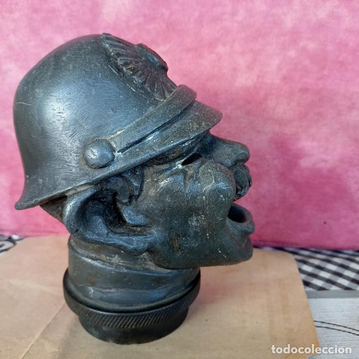 Arte: Busto de hierro fundido policía escudo Coruña 2,6 kg juego rana embellecedor coche pasamanos - Foto 8 - 280456763