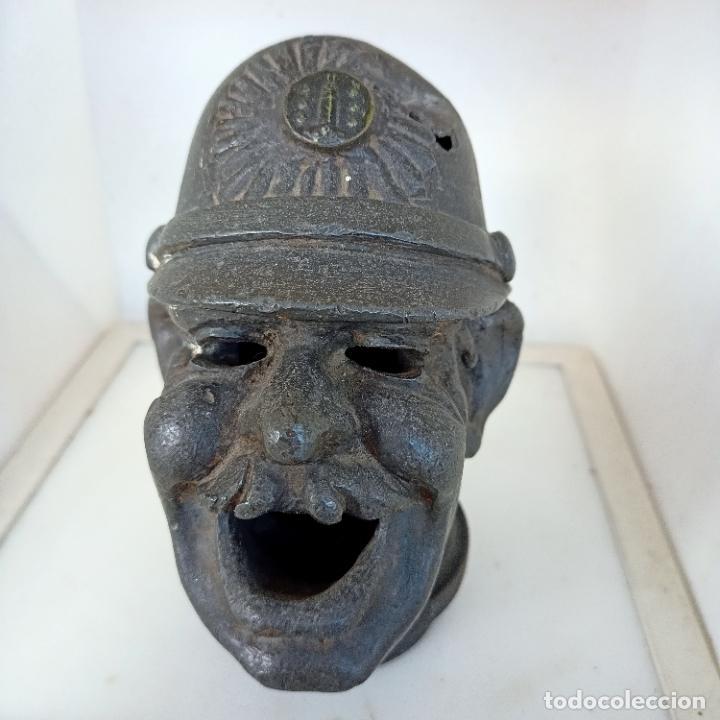 Arte: Busto de hierro fundido policía escudo Coruña 2,6 kg juego rana embellecedor coche pasamanos - Foto 17 - 280456763