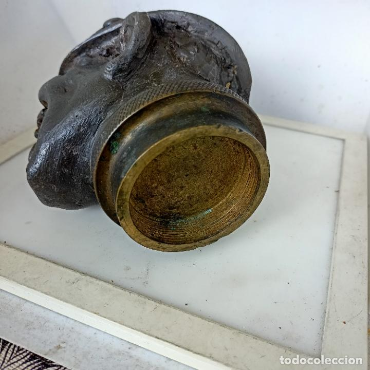 Arte: Busto de hierro fundido policía escudo Coruña 2,6 kg juego rana embellecedor coche pasamanos - Foto 18 - 280456763