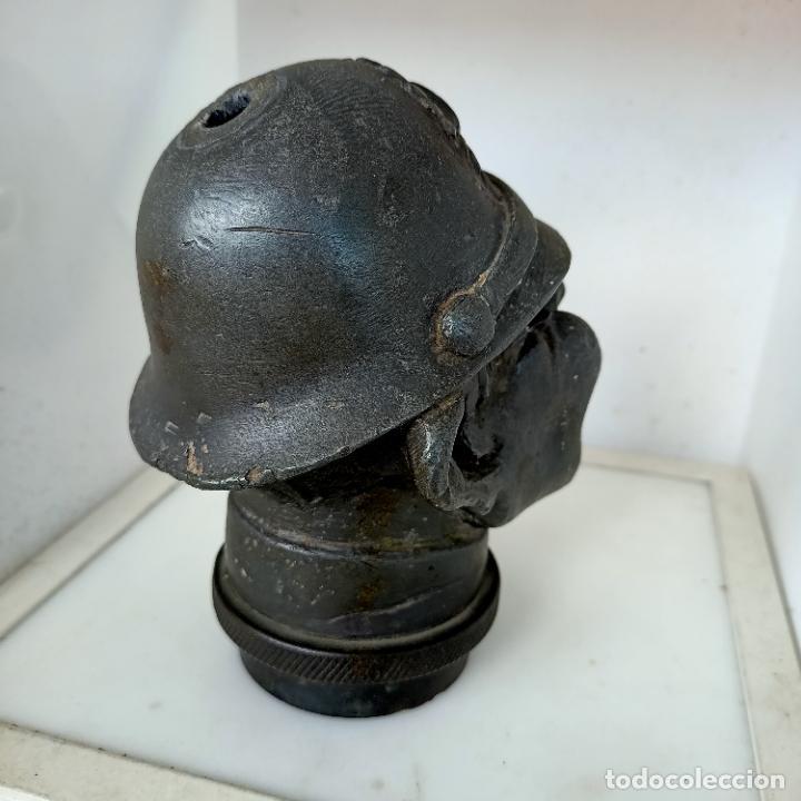 Arte: Busto de hierro fundido policía escudo Coruña 2,6 kg juego rana embellecedor coche pasamanos - Foto 21 - 280456763