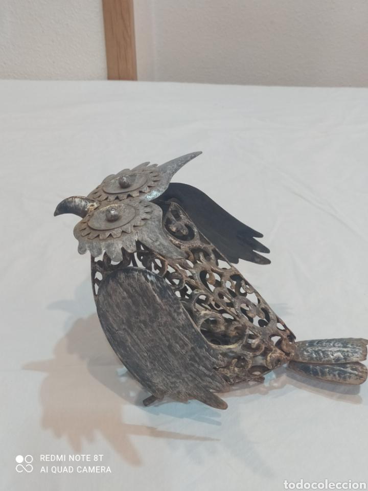 Arte: Antigua figura de hierro (búho) - Foto 5 - 284575688