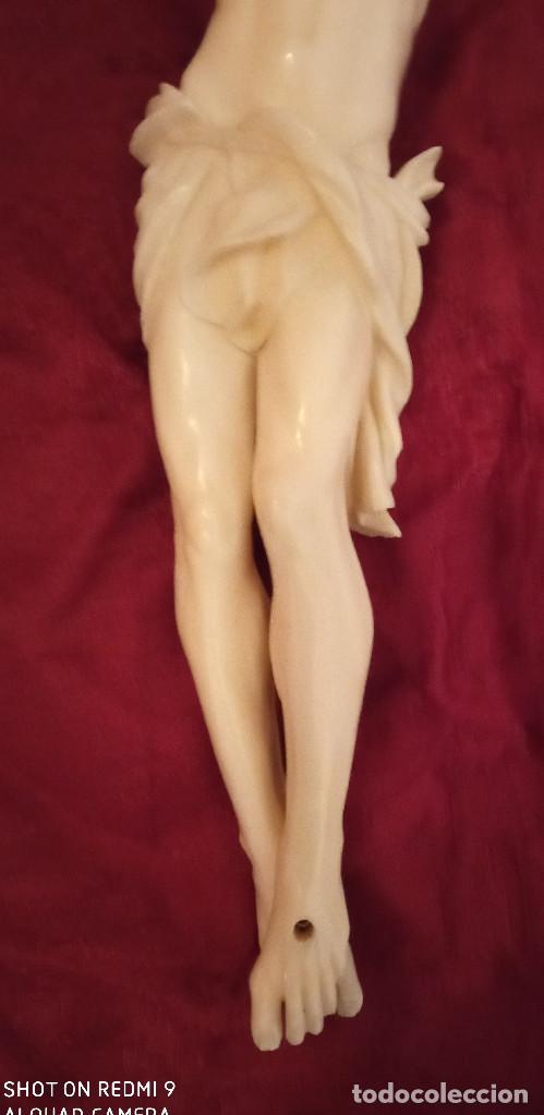 Arte: Cristo en marfil siglo XIX - Foto 3 - 285624823