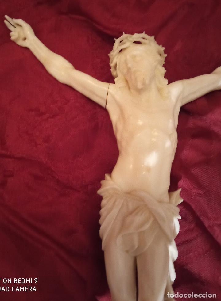 Arte: Cristo en marfil siglo XIX - Foto 6 - 285624823
