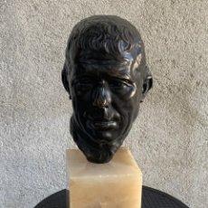 Art: ESCULTURA BRONCE JULIO ANTONIO RODRIGUEZ HERNANDEZ VENTERO PEÑALSORDO 1889 1919 44X15X15CMS. Lote 286814503