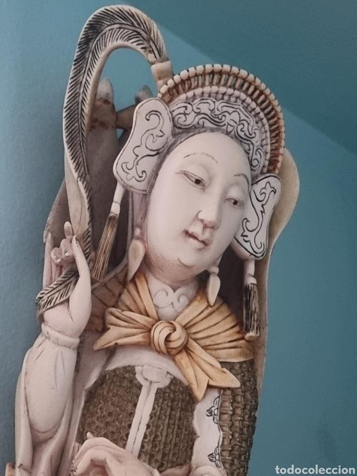 Arte: Geisha marfil chino china - Foto 8 - 286974028