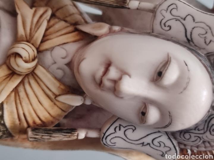 Arte: Geisha marfil chino china - Foto 14 - 286974028