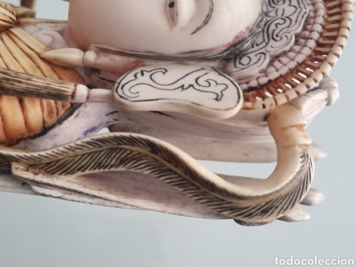 Arte: Geisha marfil chino china - Foto 19 - 286974028