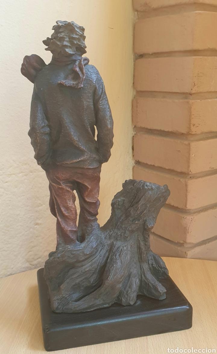 Arte: Escultura Resina Policromada Josep Bofill Invierno Firmada y Numerada - Foto 3 - 287116763