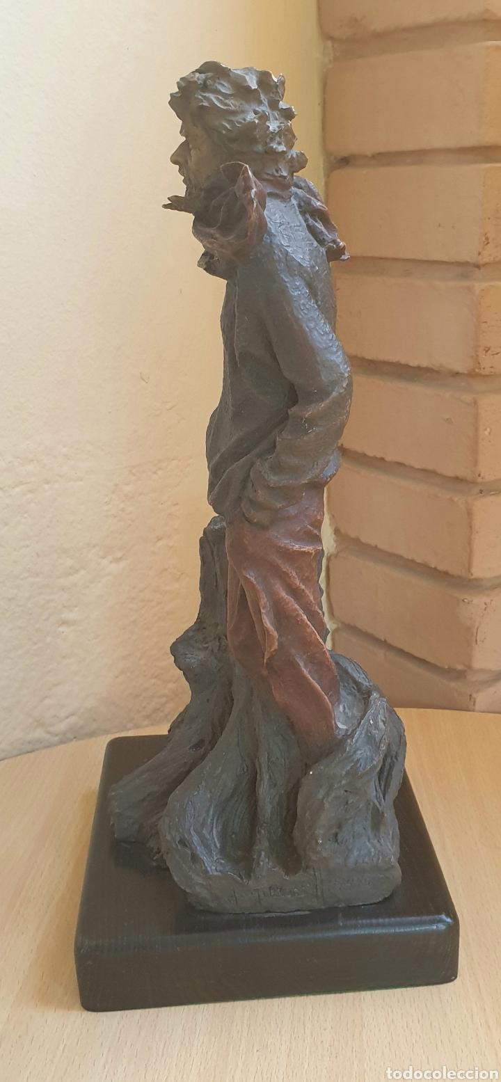 Arte: Escultura Resina Policromada Josep Bofill Invierno Firmada y Numerada - Foto 4 - 287116763