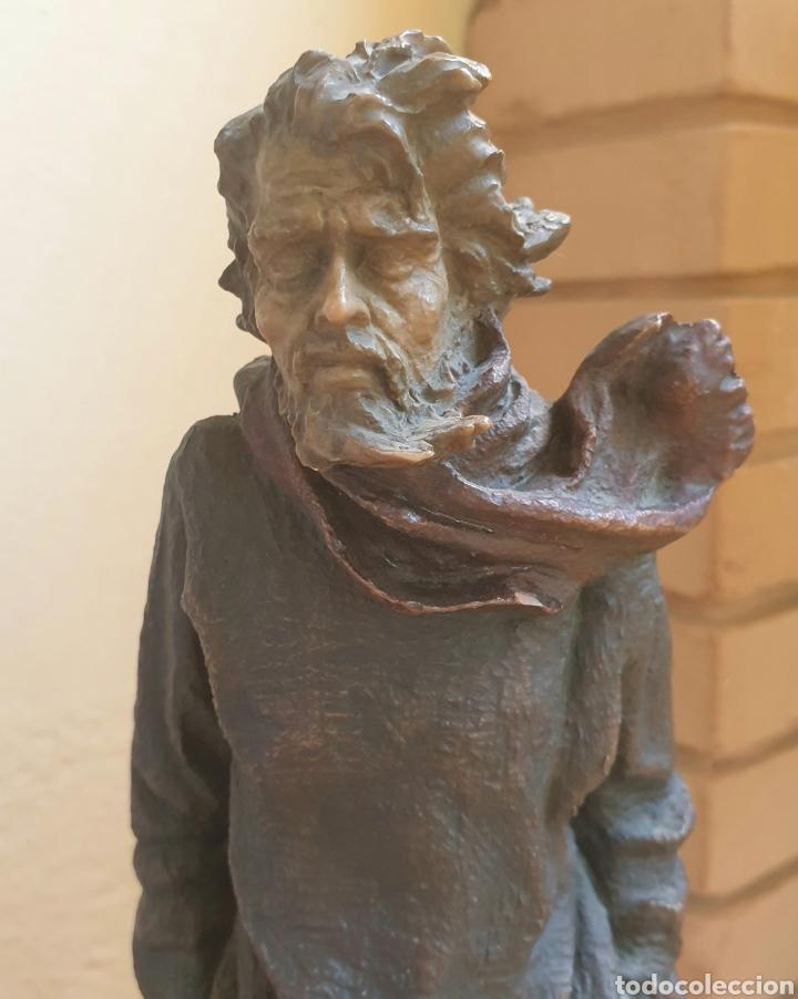 ESCULTURA RESINA POLICROMADA JOSEP BOFILL INVIERNO FIRMADA Y NUMERADA (Arte - Escultura - Resina)