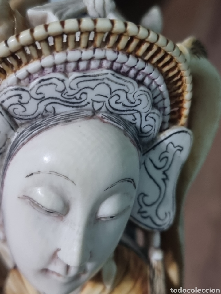 Arte: Geisha marfil chino china - Foto 20 - 286974028