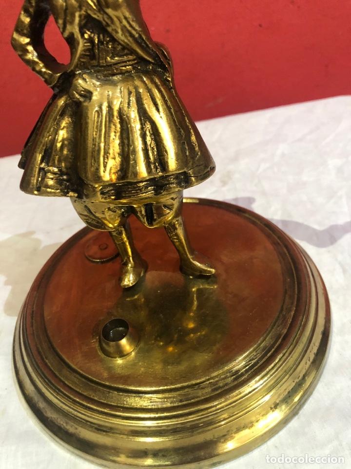 Arte: Preciosa y antigua escultura de bronce . Ver las medidas en fotos - Foto 5 - 287462918