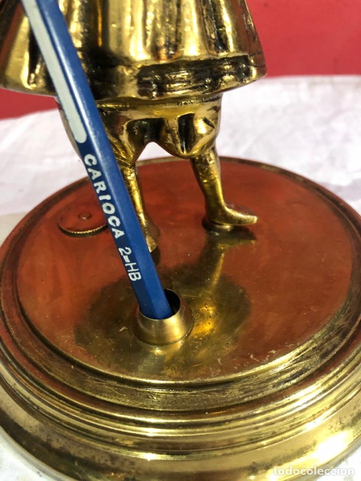 Arte: Preciosa y antigua escultura de bronce . Ver las medidas en fotos - Foto 10 - 287462918