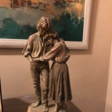 """Arte: ESCULTURA RESINA JOSEP BOFILL """"JUNTOS POR EL CAMINO """". Lote 287788483"""