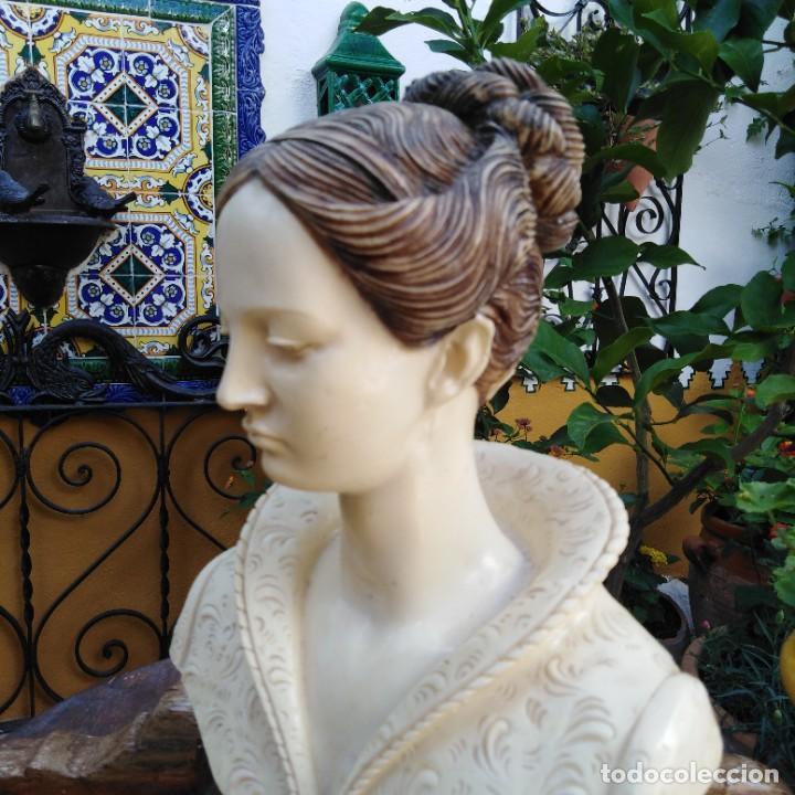 Arte: Antiguo busto en mármol. - Foto 6 - 288041738