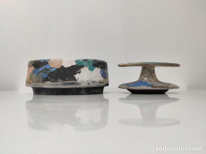 Arte: Jarrón escultura en Cerámica esmaltada por Marciano Buendía - Foto 14 - 288101453