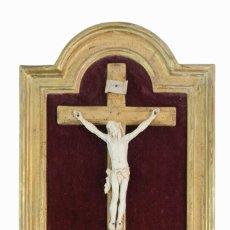 Arte: CORPUS CHRISTI. CARVED IVORY. MARFIL TALLADO. FRANCE 19TH CENTURY. Lote 288343658