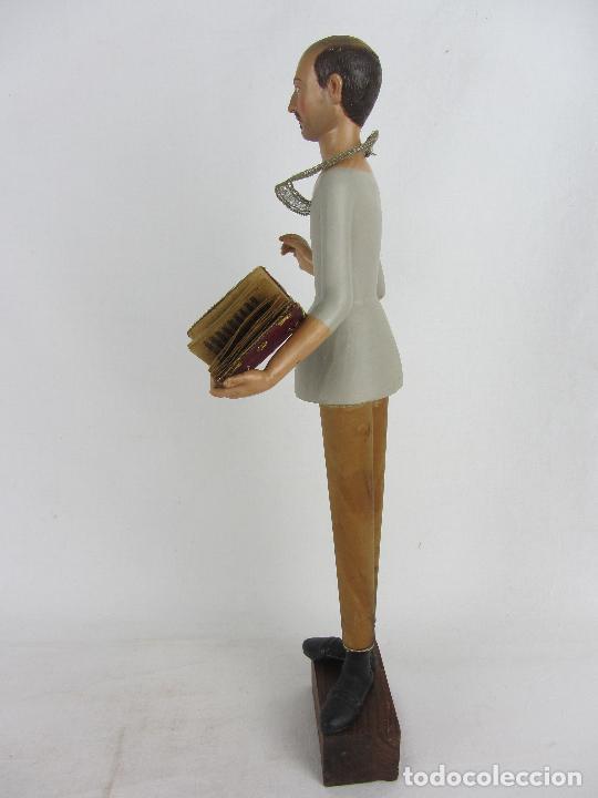 """Arte: Figura de """"cap i pota"""" de San Carlos Borromeo, del siglo XIX - Foto 9 - 288676858"""