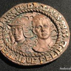 Arte: 1508- MEDALLA CONMEMORATIVA DEL PRINCIPADO DE ASTURIAS VI CENTENARIO NUMERADA. Lote 288989663