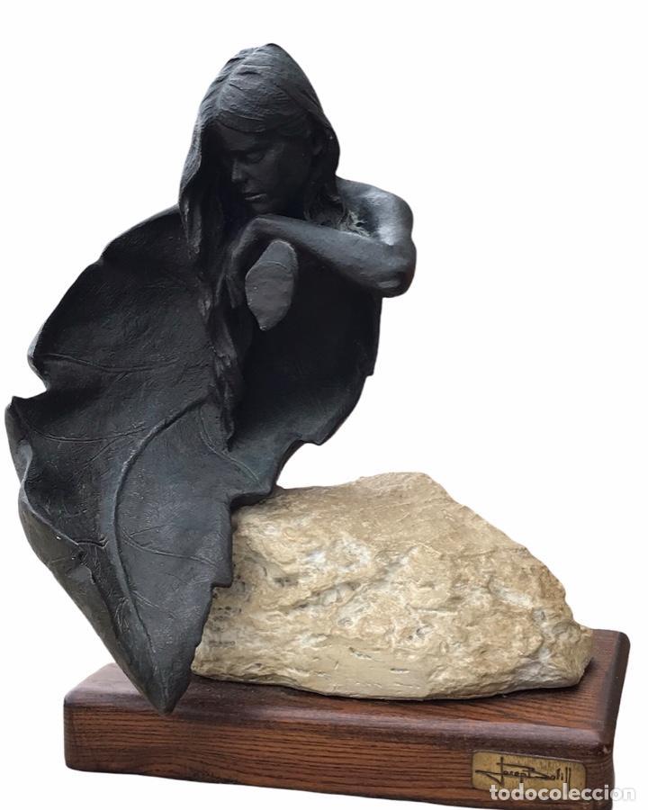 ESCULTURA DE JOSEP BOFILL FIRMADA Y NÚMERADA 1534/3999-D (Arte - Escultura - Resina)
