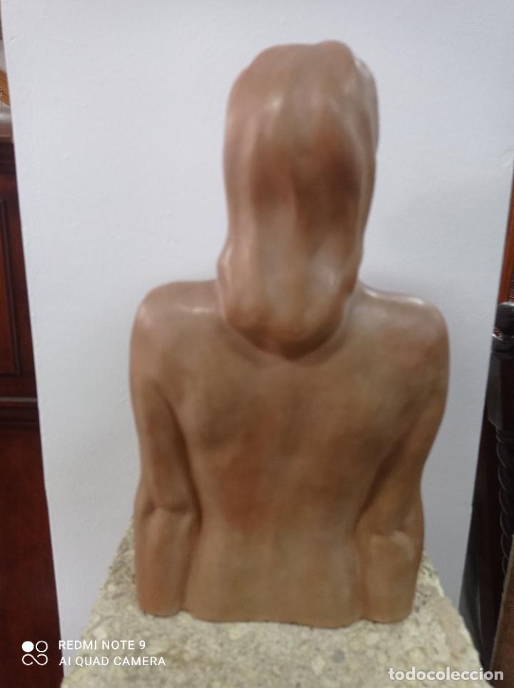 Arte: Escultura en terracota del escultor canario Enrique Cejas Zaldívar. Canarias - Foto 5 - 289651903