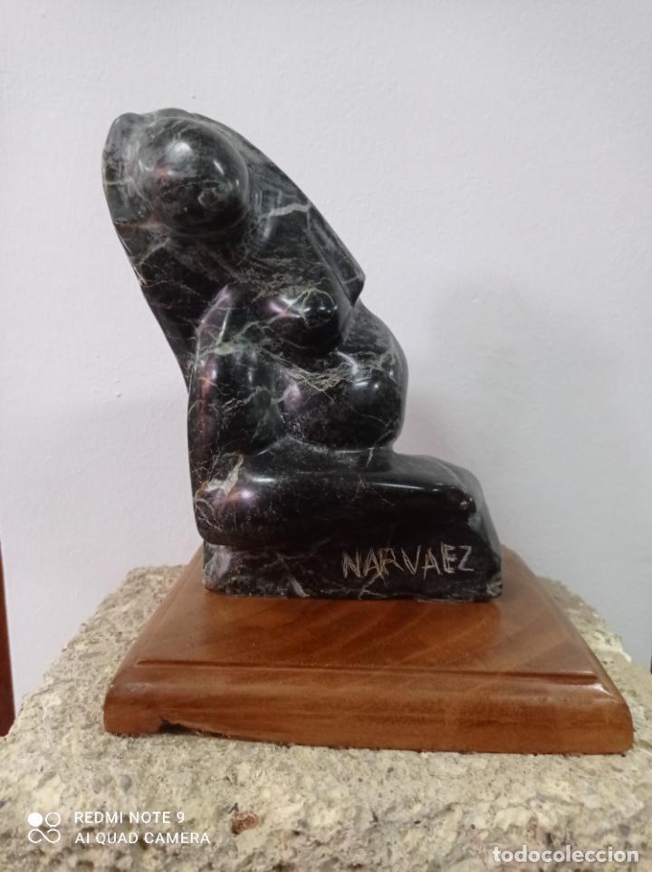 Arte: Escultura en piedra del escultor de prestigio internacional Francisco Narváez. - Foto 2 - 289652088