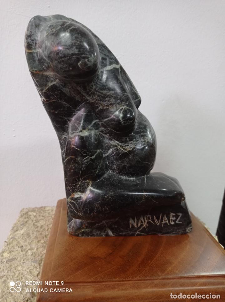 Arte: Escultura en piedra del escultor de prestigio internacional Francisco Narváez. - Foto 6 - 289652088