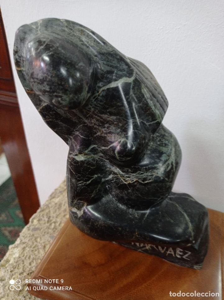 Arte: Escultura en piedra del escultor de prestigio internacional Francisco Narváez. - Foto 8 - 289652088