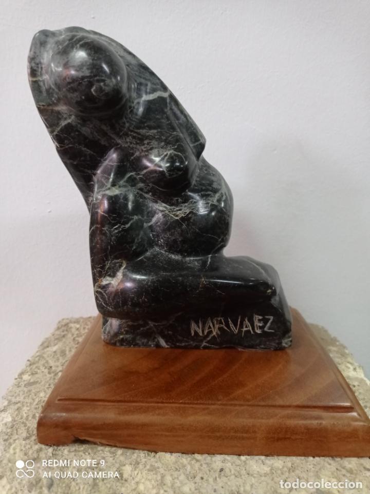 ESCULTURA EN PIEDRA DEL ESCULTOR DE PRESTIGIO INTERNACIONAL FRANCISCO NARVÁEZ. (Arte - Escultura - Piedra)
