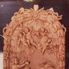 Arte: PLACA DE MARFIL BAUTISMO DE JESÚS POR SAN JUAN ESCUELA EUROPEA S.XVIII. Lote 289756878