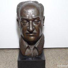 Arte: ESCULTURA EN BRONCE. RAMON CUELLO RIERA (BARCELONA 1939). 46 CM ALTO.. Lote 289903883