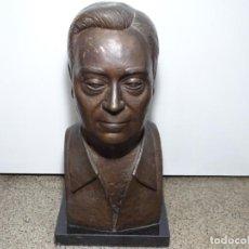 Arte: ESCULTURA EN BRONCE. FERNANDO BERNAD CASARRAN ( LECERA, ZARAGOZA 1913-2005). 51 CM ALTO.. Lote 289906268