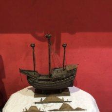 Arte: ANTIGUA MAQUETA ARME CARRACA ESPAÑOLA S.XV . VER LAS MEDIDAS EN FOTOS. Lote 294017728