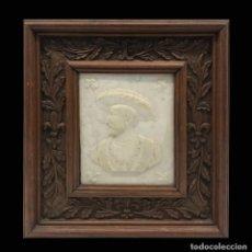 Arte: INTERESANTE RELIEVE DE FRANCISO I, ALABASTRO. Lote 295307968