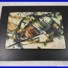 Arte: CERAMICA DEL AUTOR ANDRES GALDEANO (1939-2004). Lote 295441483
